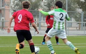 Football tournament in Barcelona