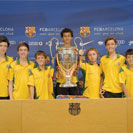 Vikings Futsal at the Camp Nou