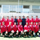 Gap Connahs Quay FC, The Nomads, Barcelona coaching session