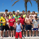 Vikings Futsal, beach coaching session