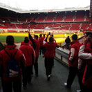 UE Bordeta exit tunnel at Old Trafford
