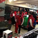 UE Bordeta visit Liverpool FC Club Shop
