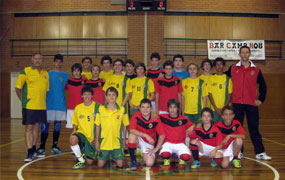 Futsal team photo